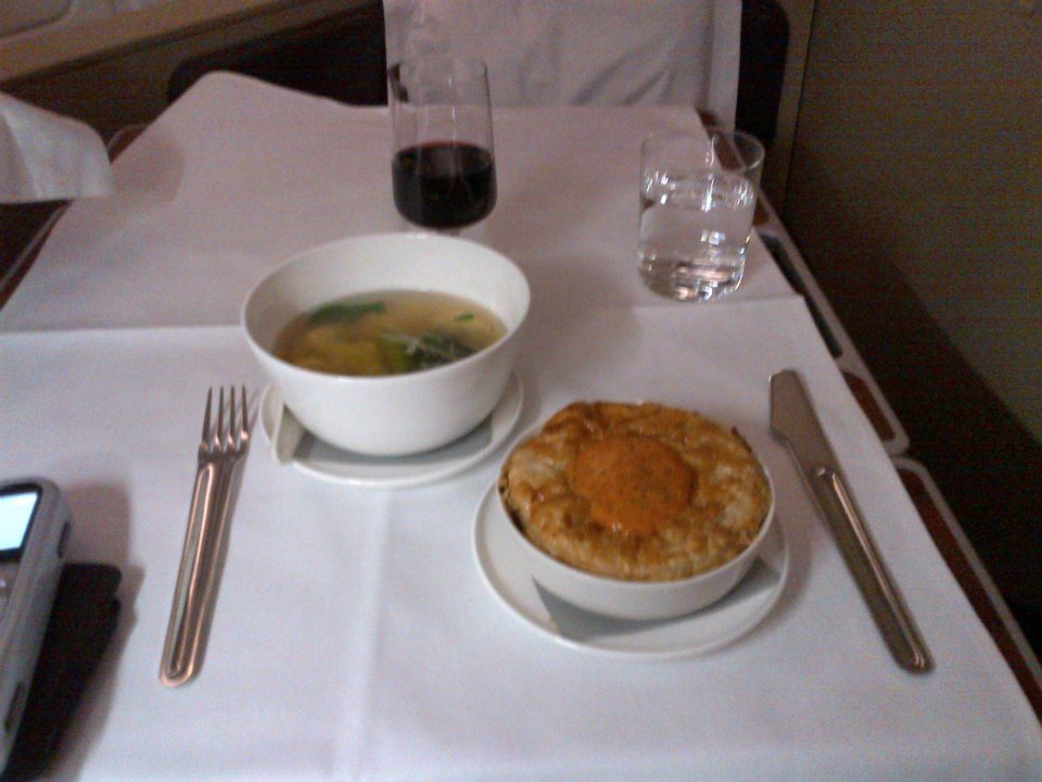 Moroccan Lamb Pot Pie and an Asian Consumme