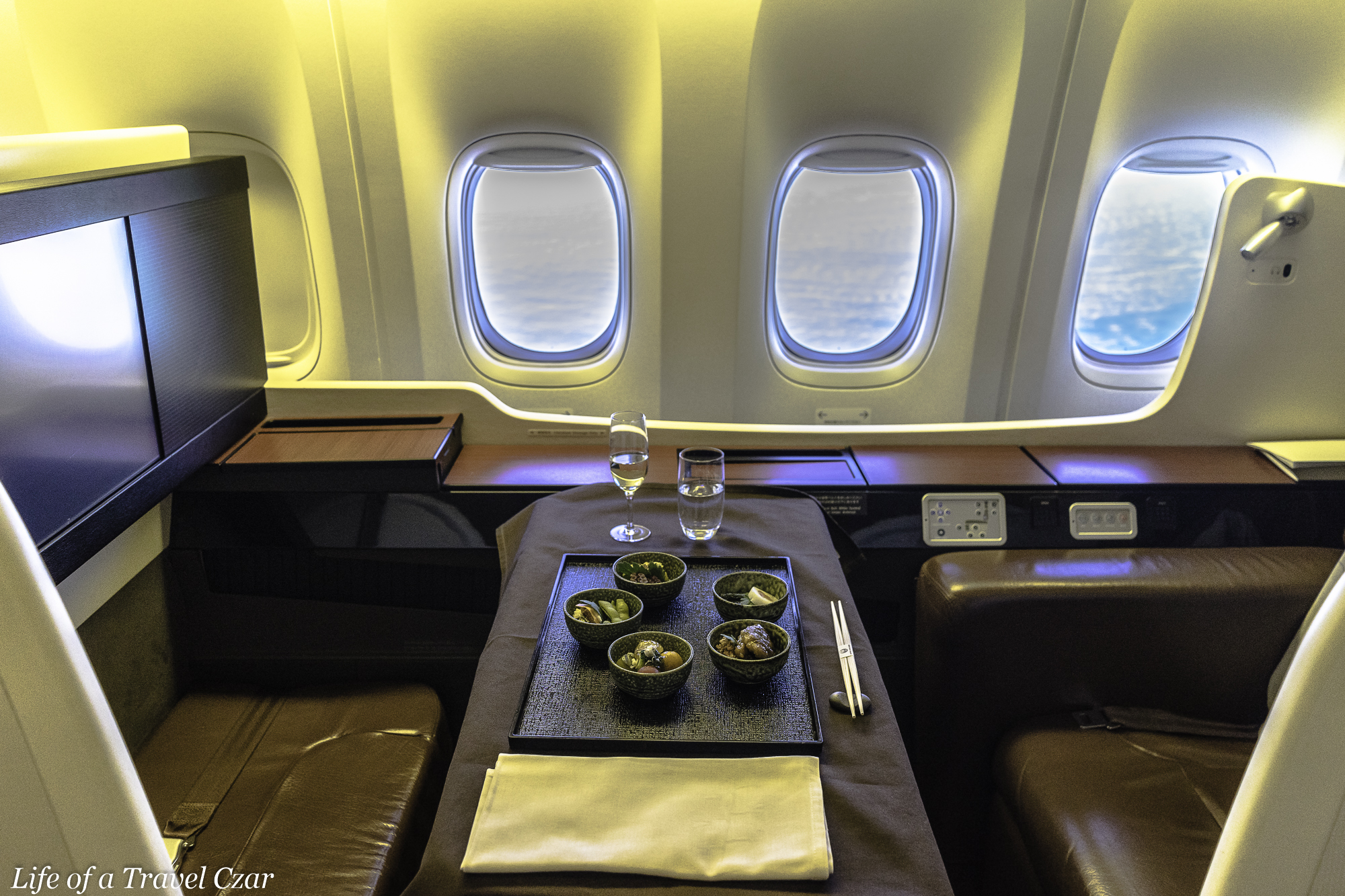 Japan Airlines First Class London To Tokyo