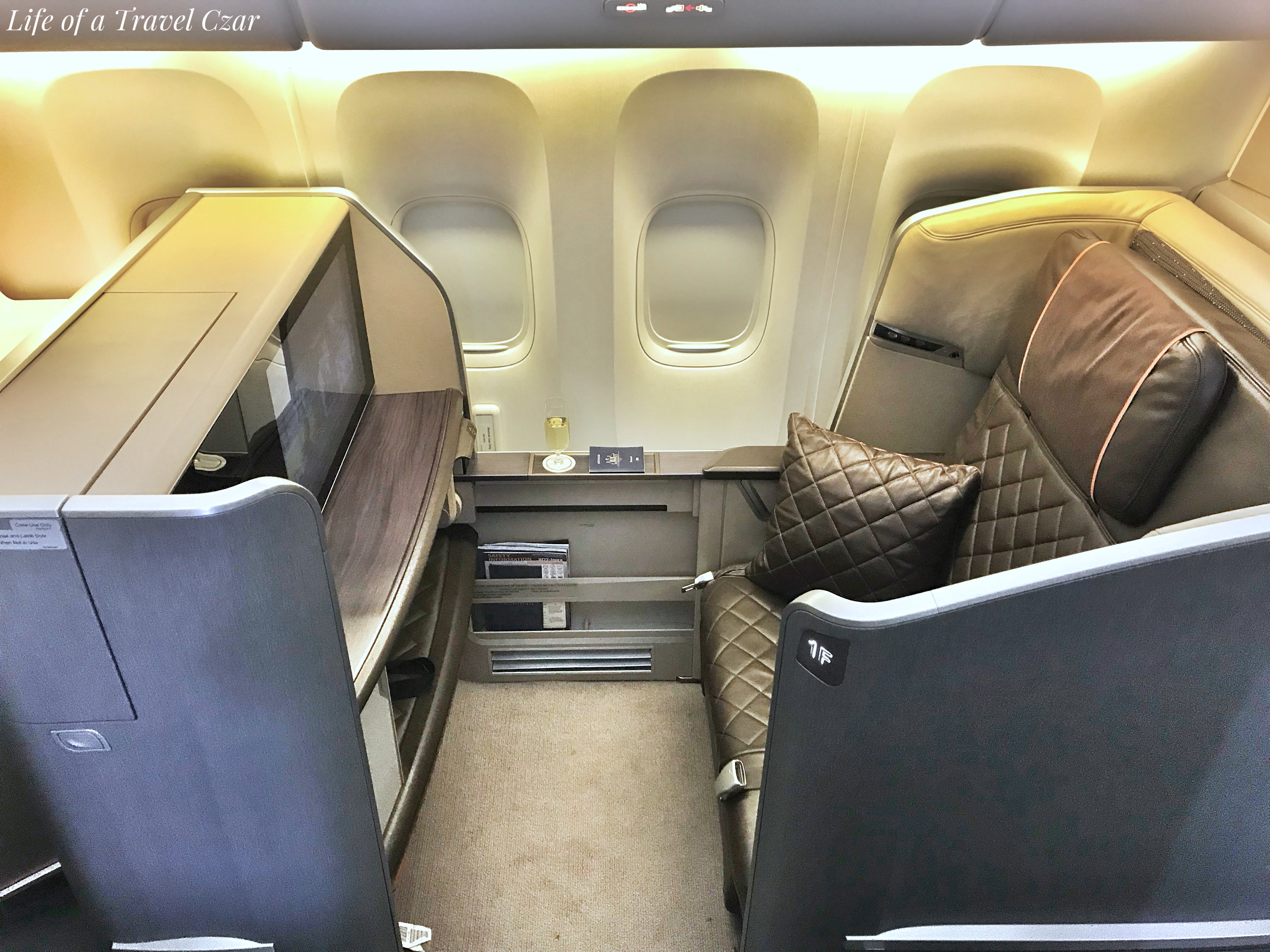 Singapore Airlines First Class Sydney To Singapore